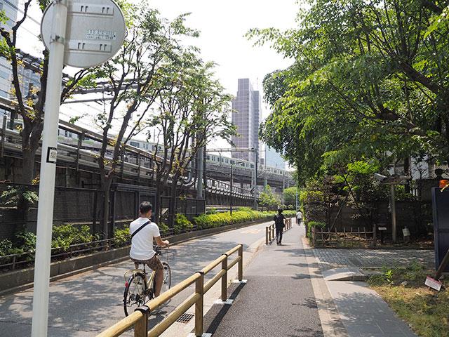 西新宿付近